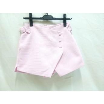 【中古】 リエンダ rienda ショートパンツ サイズS レディース ピンク