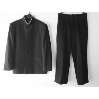 【中古】 ヒロミチナカノ hiromichi nakano メンズスーツ サイズ175A 76 メンズ 黒 school/4点セット
