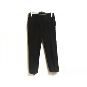 【中古】 ミラオーウェン Mila Owen パンツ サイズ1 S レディース 黒