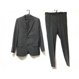 【中古】 アンタイトルメン UNTITLED MEN シングルスーツ サイズ50 メンズ グレー