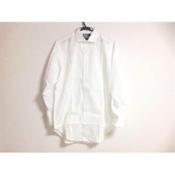 【中古】 ポロラルフローレン POLObyRalphLauren 長袖シャツ サイズ39 メンズ 美品 白