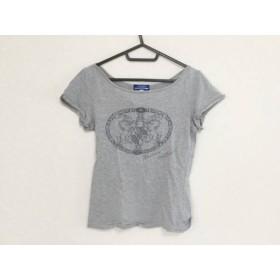 【中古】 バーバリーブルーレーベル Burberry Blue Label 半袖Tシャツ サイズ38 M レディース グレー