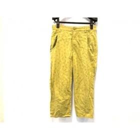 【中古】 ホコモモラ JOCOMOMOLA パンツ サイズ40 XL レディース ライトグリーン de Sybilla