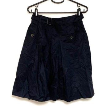 【中古】 バーバリーロンドン Burberry LONDON スカート サイズ38 L レディース ネイビー