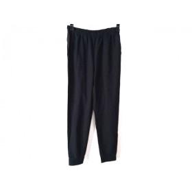 【中古】 ギャラリービスコンティ GALLERYVISCONTI パンツ サイズ00 XS レディース 美品 黒 ウエストゴム