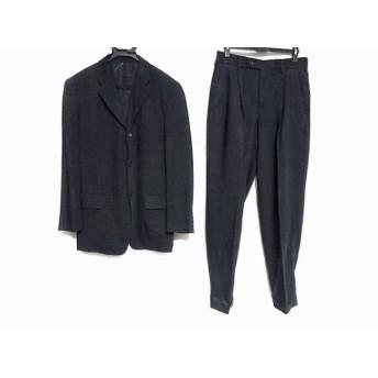 【中古】 コムサデモードメン COMME CA DU MODE MEN シングルスーツ サイズ2 M メンズ 黒