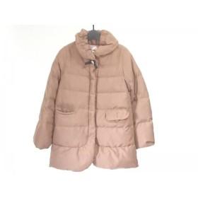 【中古】 ミニマム MINIMUM ダウンジャケット サイズ2 M レディース ブラウン 冬物