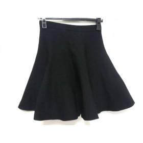 【中古】 ルシェルブルー LE CIEL BLEU スカート レディース 黒
