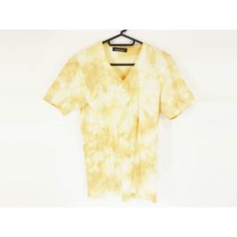 【中古】 トルネードマート TORNADO MART 半袖Tシャツ サイズM メンズ ブラウン 白