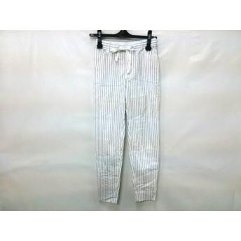 【中古】 メイソングレイ MAYSON GREY パンツ サイズ0 XS レディース 白 黒