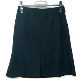 【中古】 スーナウーナ SunaUna スカート サイズ38 M レディース 黒