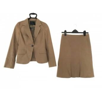 【中古】 アンタイトル UNTITLED スカートスーツ サイズ2 M レディース ブラウン