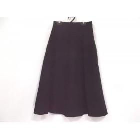 【中古】 マックスマーラ Max Mara ロングスカート サイズ40 M レディース ダークブラウン