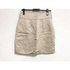 【中古】 クロエ Chloe ミニスカート サイズ36 S レディース ベージュ