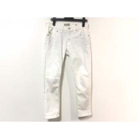 【中古】 ヤヌーク YANUK パンツ サイズ25 XS レディース アイボリー