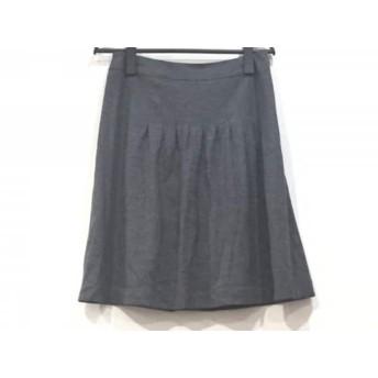 【中古】 ジャスグリッティー JUSGLITTY スカート サイズ2 M レディース ダークグレー