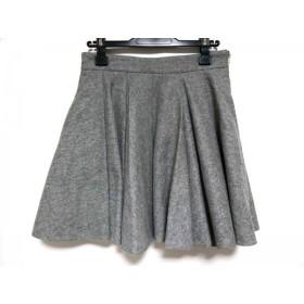 【中古】 ミューズデドゥーズィエムクラス スカート サイズ36 S レディース ライトグレー