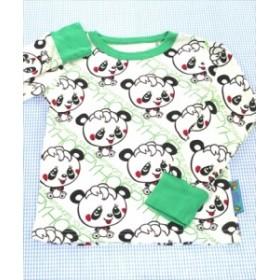 7c0ad105d289b グラグラ GRAND GROUND 長袖Tシャツ ロンt 110cm 白系 パンダ くま トップス キッズ 女の子 子供