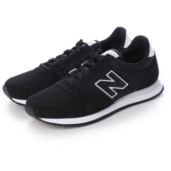 ニューバランス new balance U220 ランニングシューズ (ブラック×ホワイト)