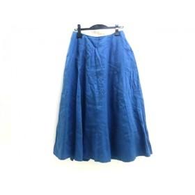 【中古】 ノーブランド スカート サイズF レディース ダークブルー