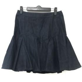 【中古】 ロイスクレヨン Lois CRAYON スカート サイズM レディース ネイビー デニム