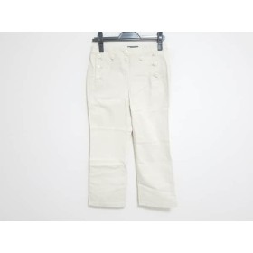 【中古】 ヒューマンウーマン HUMAN WOMAN パンツ サイズ2 M レディース アイボリー