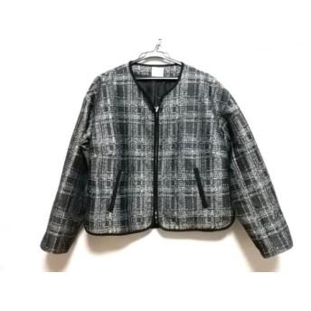 【中古】 カーラ Cara ジャケット レディース 美品 黒 白
