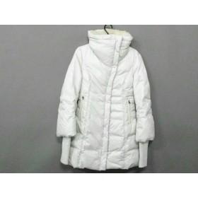 【中古】 マッカージュ Mackage ダウンコート サイズXS レディース アイボリー 冬物