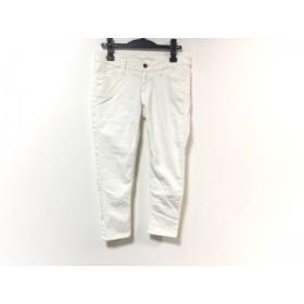 【中古】 ドゥーズィエム DEUXIEME CLASSE パンツ サイズ38 M レディース アイボリー