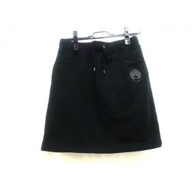 【中古】 スカラー ScoLar スカート サイズM M レディース ブラック