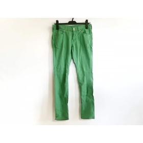 【中古】 ミュベールワーク MUVEIL WORK パンツ サイズ36 S レディース グリーン
