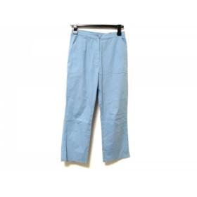 【中古】 ピッコーネ PICONE パンツ サイズ38 S レディース ライトブルー ブルー