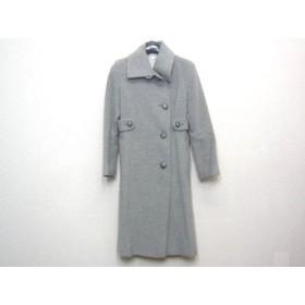 【中古】 ロペ ROPE コート サイズ7 S レディース グレー 冬物