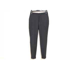 【中古】 ミラオーウェン Mila Owen パンツ サイズ0 XS レディース 黒