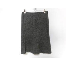 【中古】 セオリー theory スカート サイズ0 XS レディース グレー