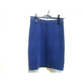 【中古】 アナトリエ anatelier スカート サイズ38 M レディース ブルー