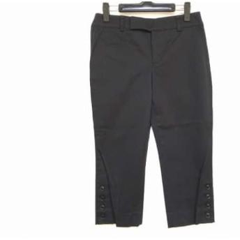 【中古】 ニジュウサンク 23区 パンツ サイズ38 M レディース 黒