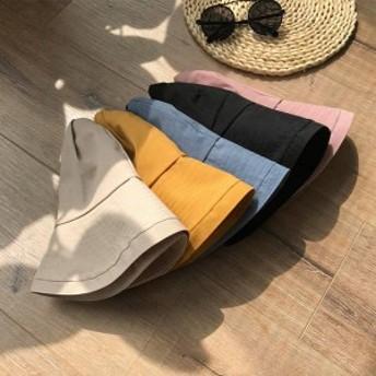 uvカット 帽子 レディース 日焼け防止 無地 カワイイ 春夏 ハット お出かけ 旅行 紫外線対策 つば広 サマー帽子 オシャレ 折りたたみ