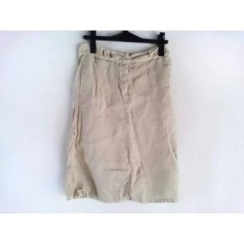 【中古】 エムエムシックス MM6 スカート サイズ38 L レディース ベージュ