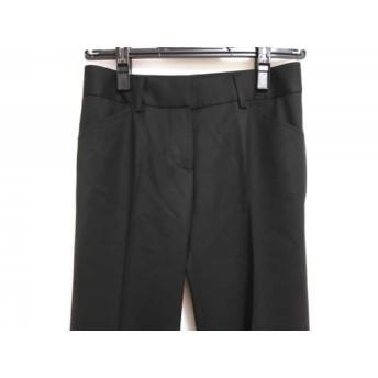 【中古】 セオリー theory パンツ サイズX0 XL レディース 黒