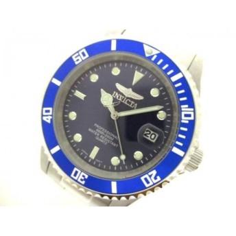 【中古】 インヴィクタ INVICTA 腕時計 9204OB メンズ ネイビー ライトグリーン