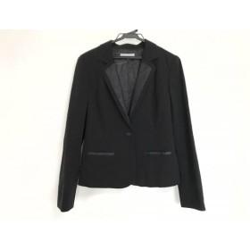 【中古】 プルミエール Premiere ジャケット サイズ42 L レディース 黒