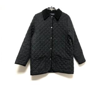 【中古】 マッキントッシュ コート サイズ40 M レディース ダークグレー 黒 キルティング/冬物