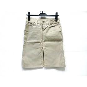 【中古】 ノーブランド スカート サイズ1 S レディース ベージュ