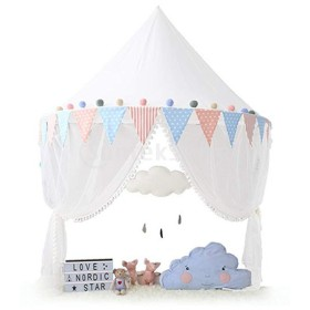B Baosity キッズテント 遊びテント 子供 ベッドキャノピー 蚊帳 読書 ベッドルーム 寝室の装飾