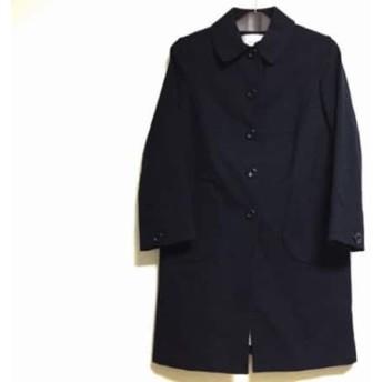 【中古】 ボンメルスリー Bon mercerie コート サイズ38 M レディース 美品 黒 春・秋物