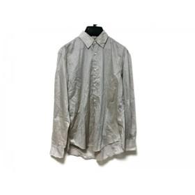 【中古】 ソーイシャツ Soe Shirts 長袖シャツ サイズ1 S メンズ ベージュ