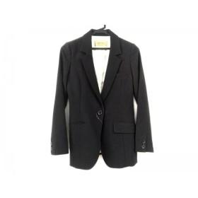 【中古】 ロイヤルパーティー ROYALPARTY ジャケット サイズ36 S レディース 美品 黒