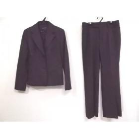 【中古】 インディビ INDIVI レディースパンツスーツ サイズ40 M レディース ダークグレー 黒