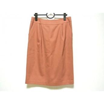 【中古】 スピック&スパン ノーブル Spick & Span Noble スカート サイズ40 M レディース ピンク